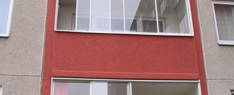 Rámové zasklívání balkonů a lodžií