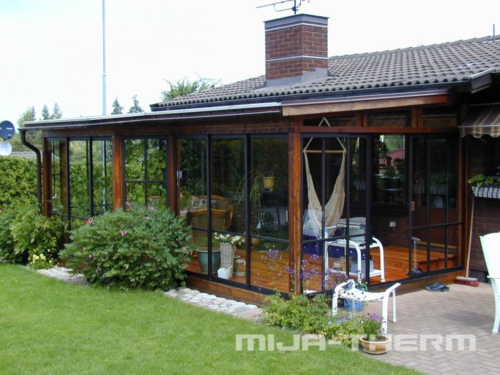 Námi realizovaná zimní zahrada rodinného domu