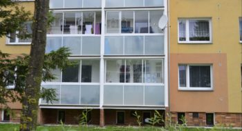 Rámový systém zasklení balkónů a lodžií