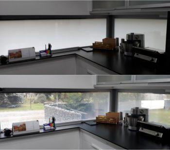 Řízeně průhledná skla PDLC